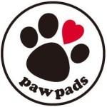 paw pads 足あとロゴ